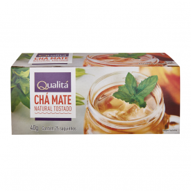 Chá Mate Natural tostado Qualitá 40g