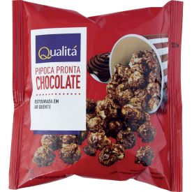 Pipoca pronta Chocolate Qualitá 50g
