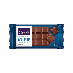 Chocolate ao leite Qualitá 100g