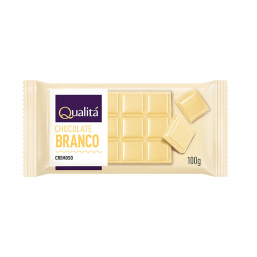 Chocolate branco Qualitá 100g