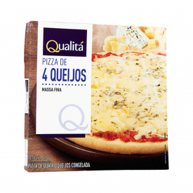 Pizza 4 queijos Qualitá