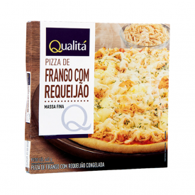 Pizza de frango com requeijão Qualitá