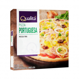Pizza portuguesa Qualitá 460g
